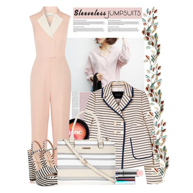"""""""Jumpsuit"""" by arohii ❤ liked on Polyvore featuring Tara Jarmon, jane, 3.1 Phillip Lim, Chinese Laundry, MAC Cosmetics, Dorothy Perkins and sleevelessjumpsuits"""