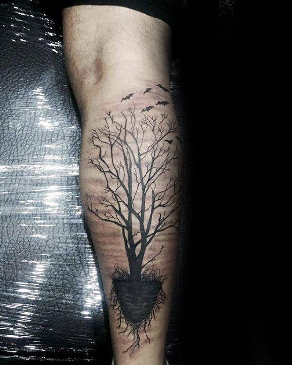 Start A Fire Roots Tattoo Tree Roots Tattoo Tree Tattoo Men