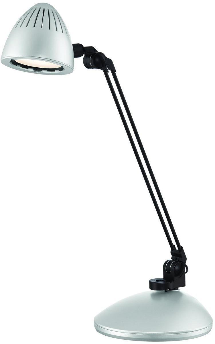 0 008176 Donati 1 Light Led Desk Lamp Silver Desk Lamp Led Desk