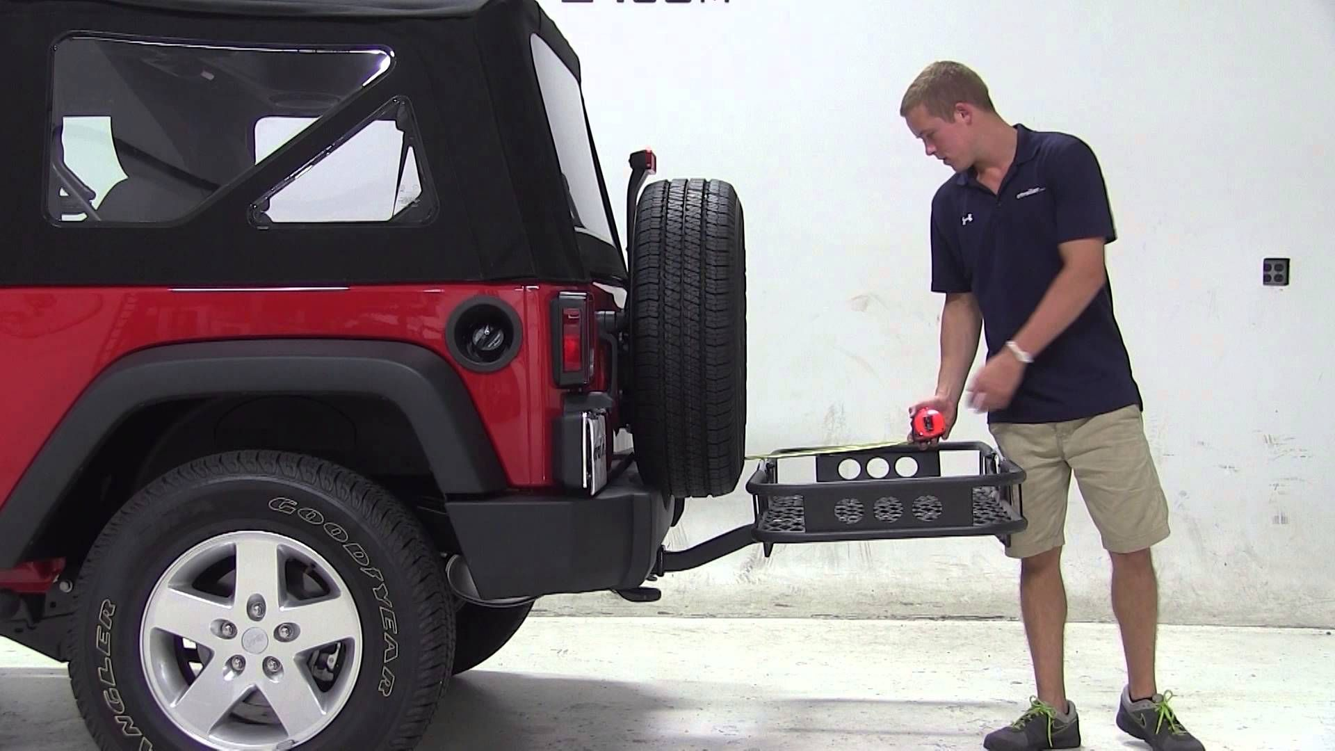 Review of the Rola Hitch Cargo Carrier on a 2013 Jeep