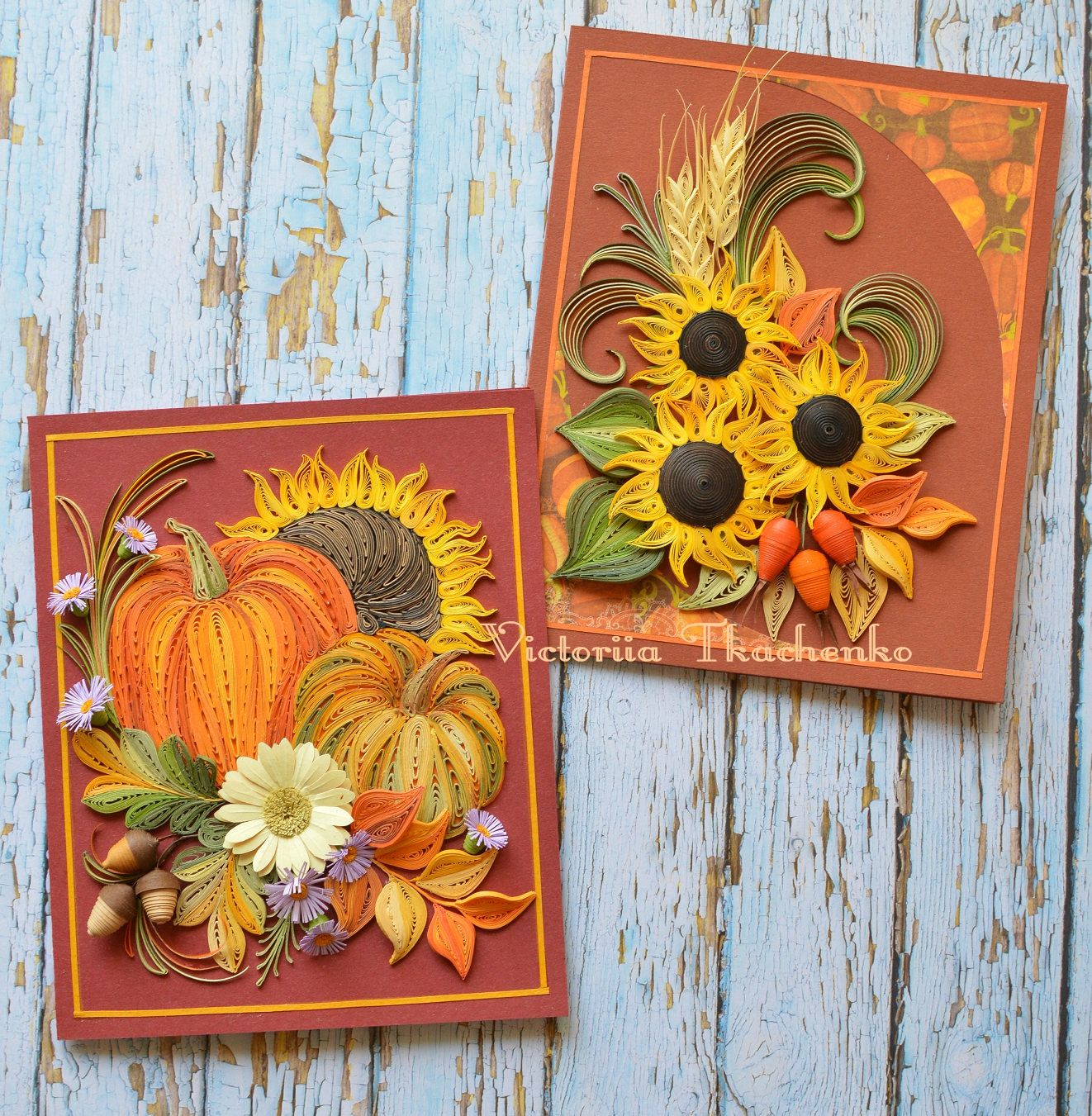 Thanksgiving Quilling Card