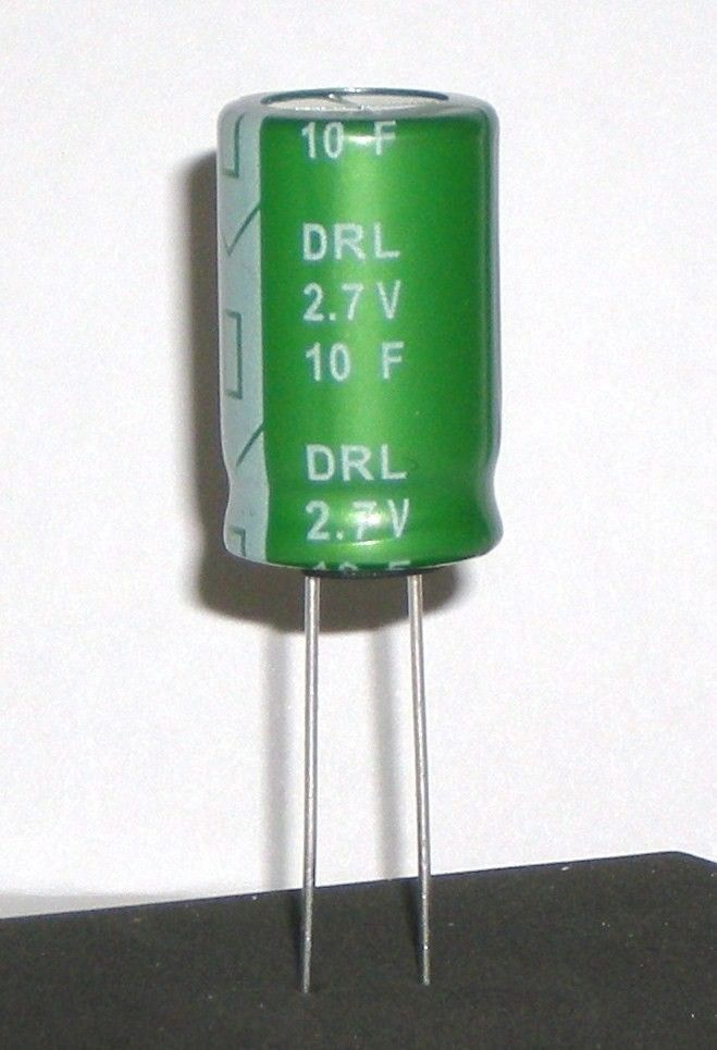 Details about New 10pcs/lot 2 7V 500F Super Capacitor Protection