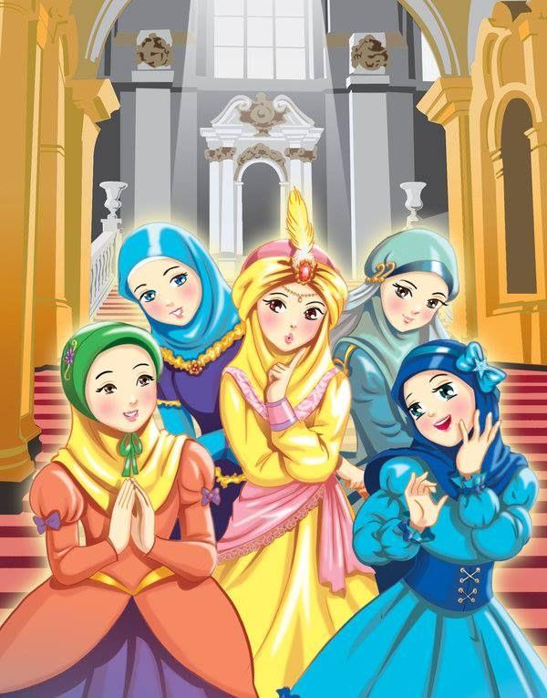 Hijab Is Our Crown Www Alqamar Ca Animasi Gambar Kartun Hijab