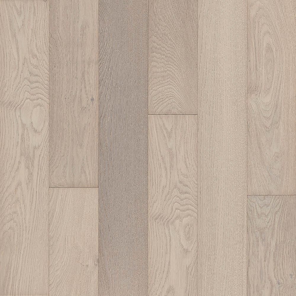 Bruce Hydropel Oak Parchment 3 8 In Thick X 5 In Wide X Varying