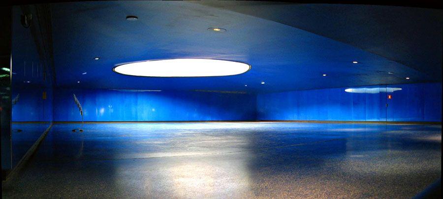 Monumento 11M, arquitectura conmemorativa y terrazo