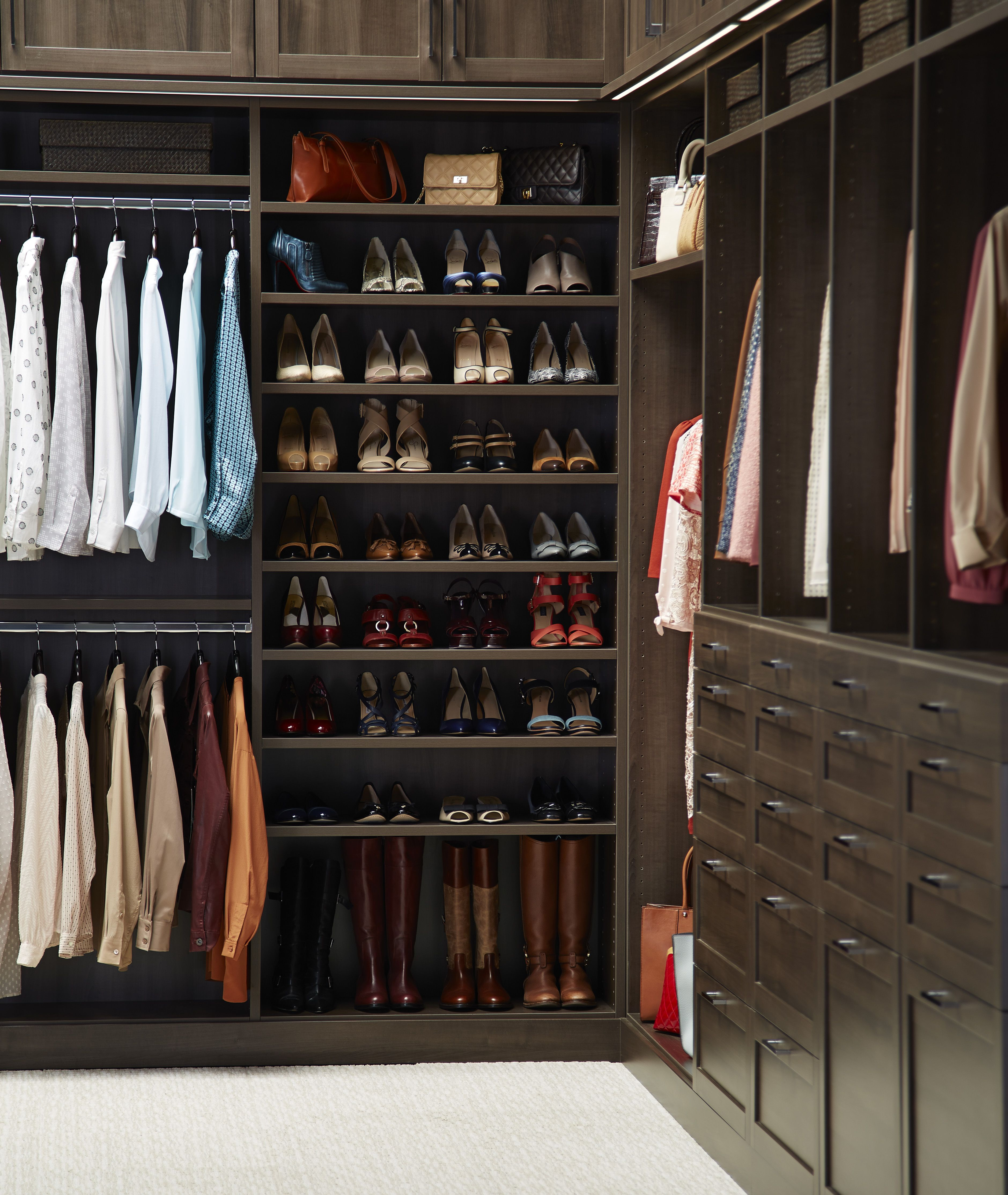 His and hers shared closet for when a man makes room for for His and hers closet