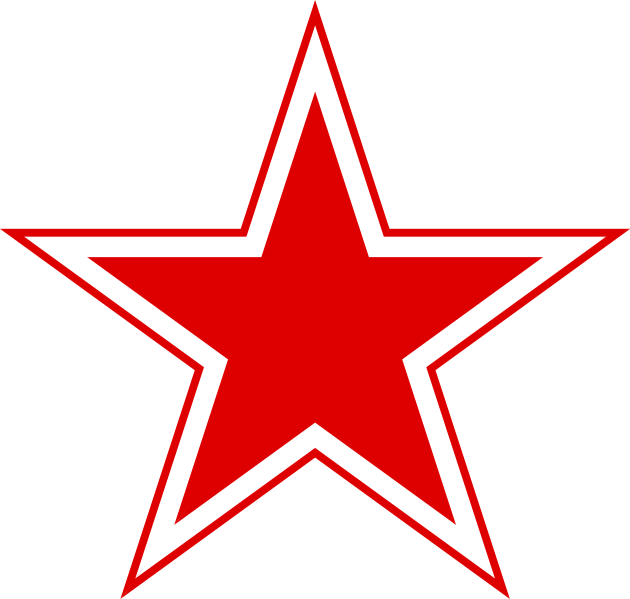 File Urss Russian Aviation Red Star Svg Star Outline Star Clipart Dallas Cowboys