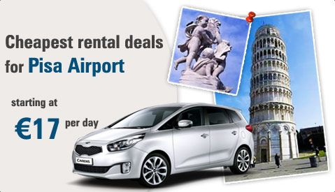 Special Offers In Car Rental Deals At Pisa Airport In Italy