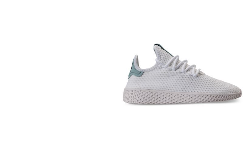 835091d6a472e adidas Big Boys  Originals Pharrell Williams Tennis HU Casual Sneakers from Finish  Line - Finish Line Athletic Shoes - Kids   Baby - Macy s