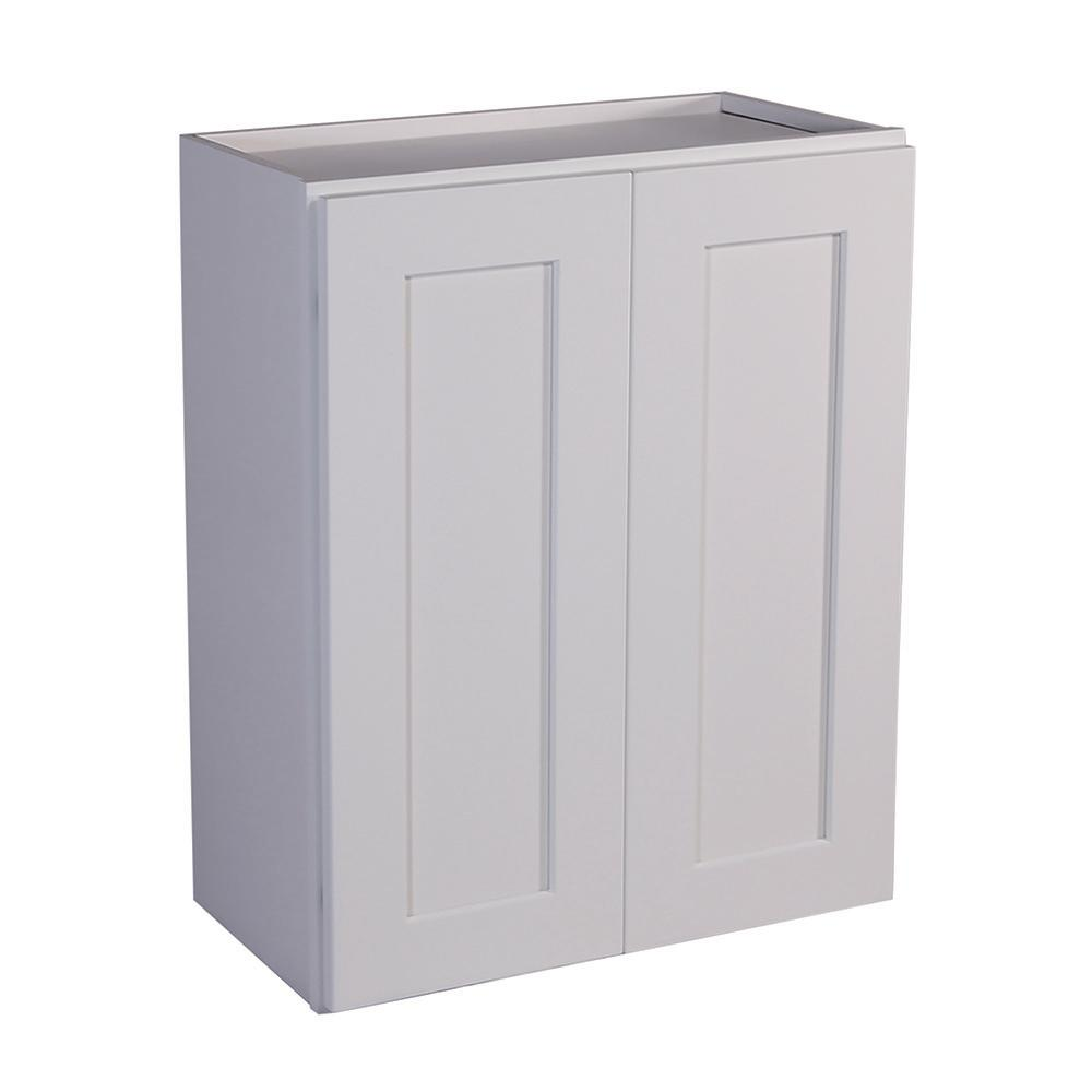 Design House Brookings Ready To Assemble 24 X 24 X 12 In Wall Cabinet Style 2 Door In White Wall Cabinet House Design Kitchen Pantry Storage Cabinet