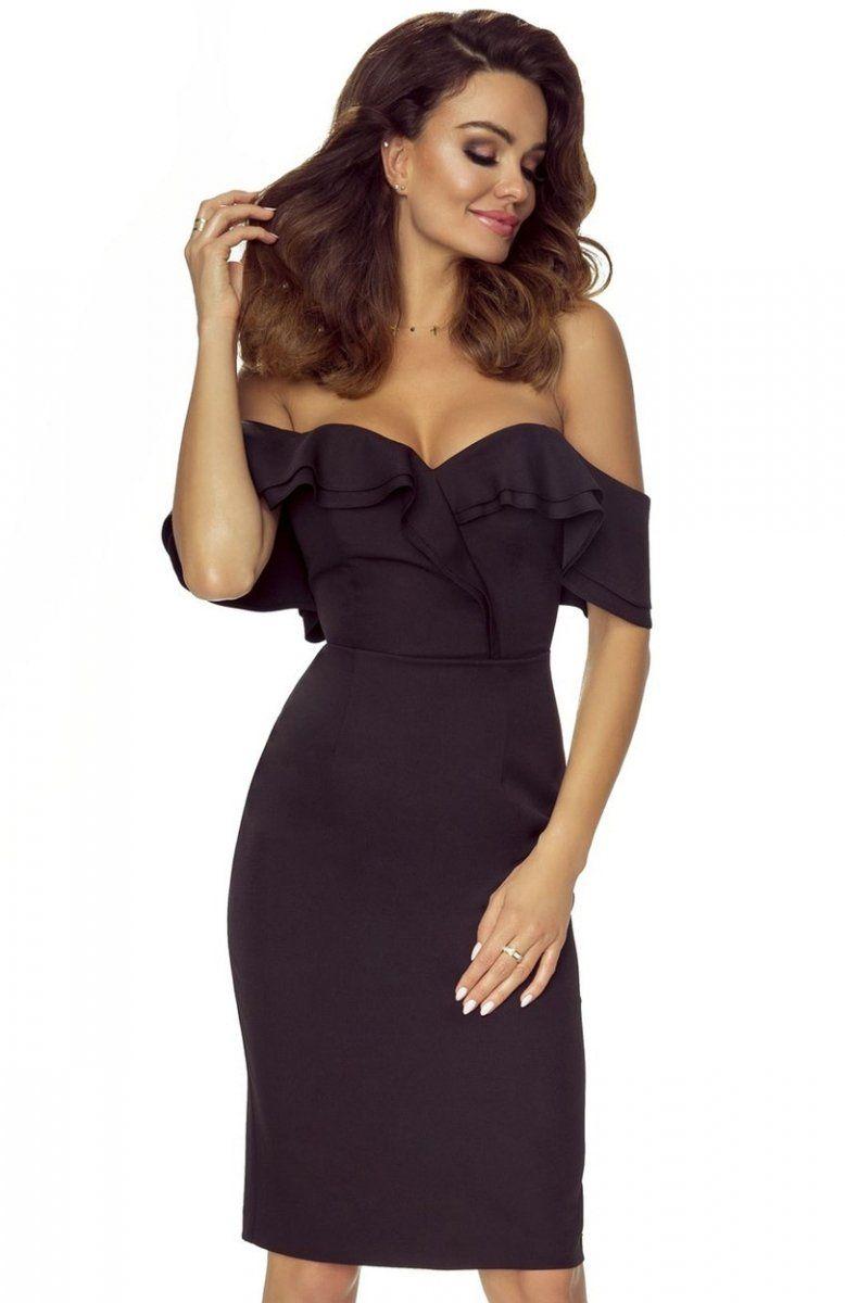 ae3912fed3 Bergamo Cleo sukienka czarna Niesamowicie seksowna i kobieca sukienka z  najnowszej kolekcji marki Bergamo