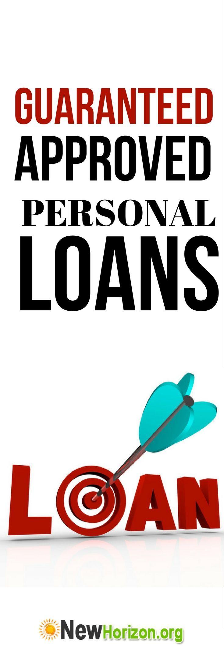 Bad Credit Personal Loans 100 Guaranteed Approval