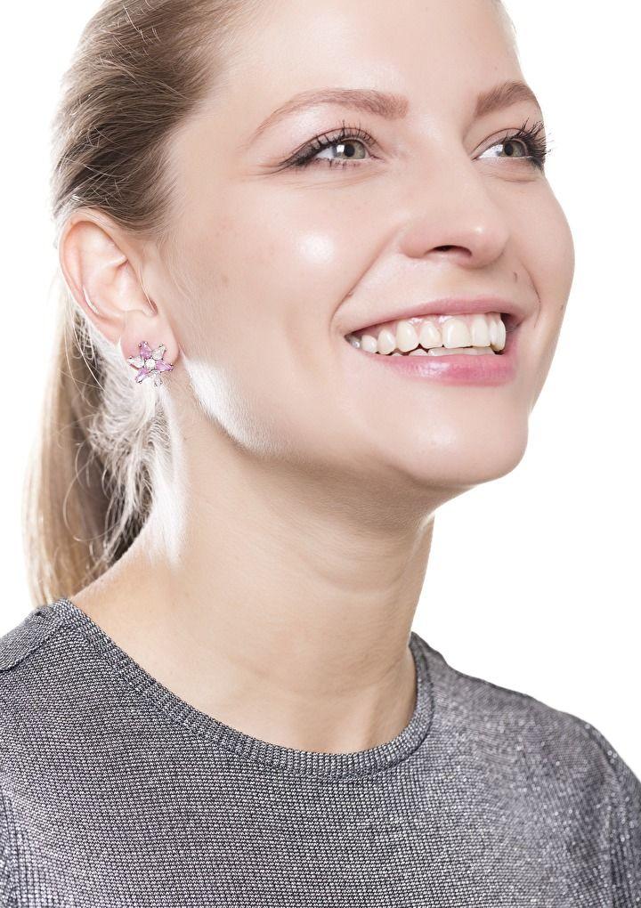 Rose Starlight Earrings #earrings #pretty #cute - 14,90 € @happinessboutique.com