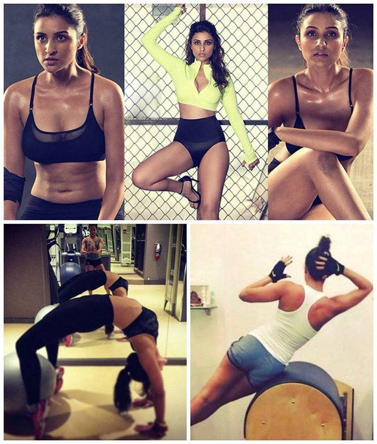 """""""You might lose a few calories simply looking at these!  Visit mtvindia.com to see 7 Bollywood Workout Images That'll Make You Hit The Gym Right Away #gym…"""""""