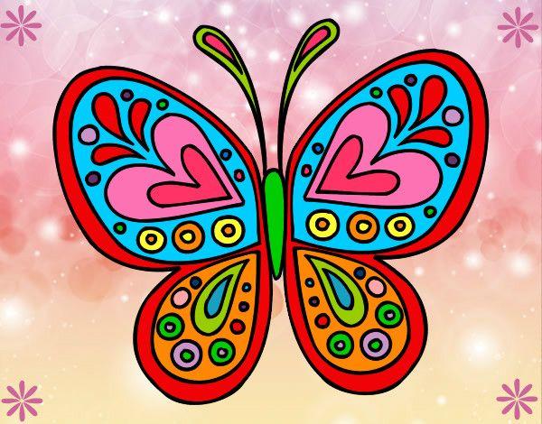 Mariposas Caricatura Coloridas