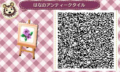 Framed Rose Tile - Animal Crossing New Leaf QR