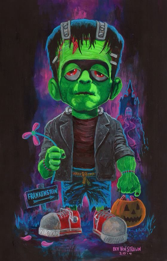 Little Frankenstein by Ben Von Strawn