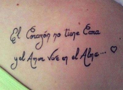 Tattoo Con Frases En Español Para El Brazo Frasesss Tatoo