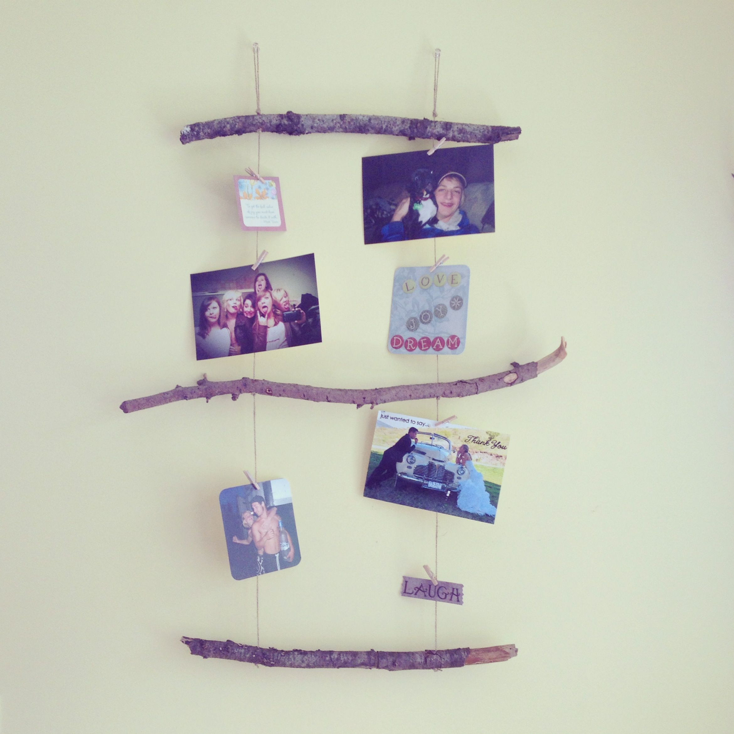 Do It Yourself Home Decorating Ideas: DIY Wall Decor Www.rusticwedding.ca