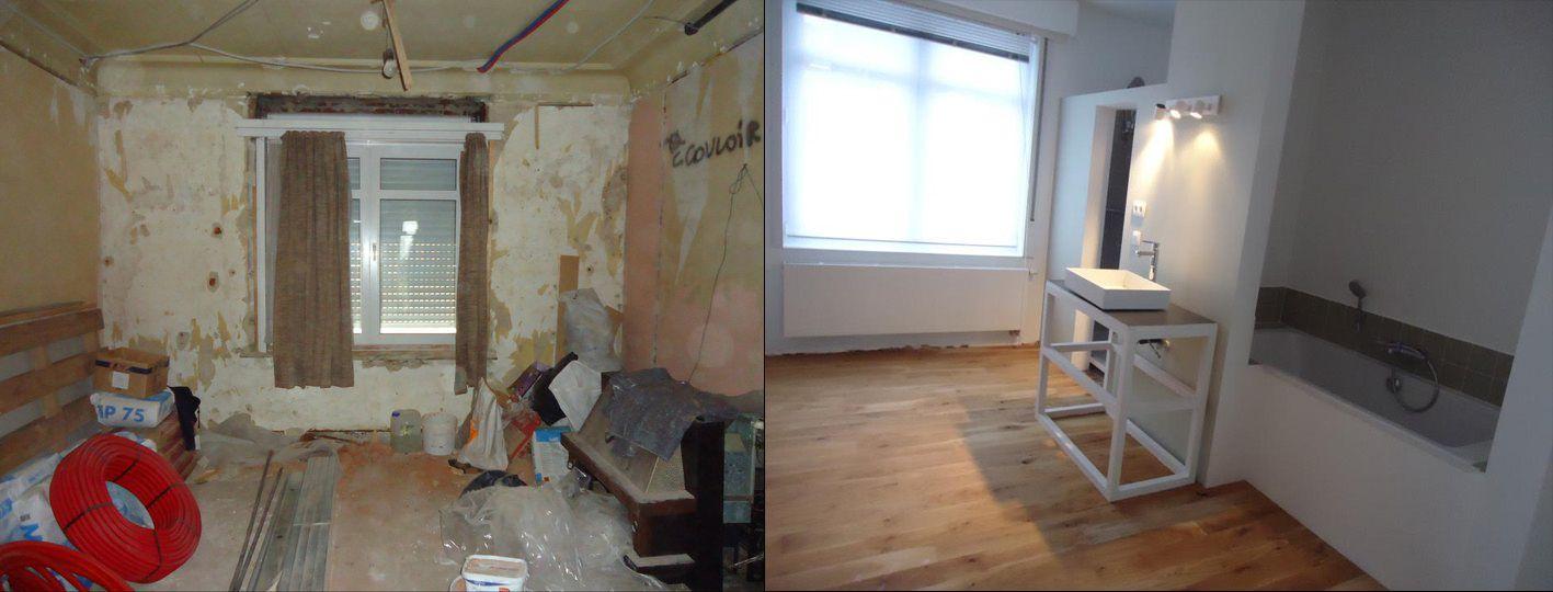 renovatie & creatie van badkamer