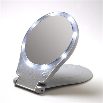 15x Magnifying Makeup Mirror Floxite Fl 10lfm 10x Lighted Folding Home And Travel Make Up Mirror Magnification Mirror Travel Mirror Magnifying Mirror