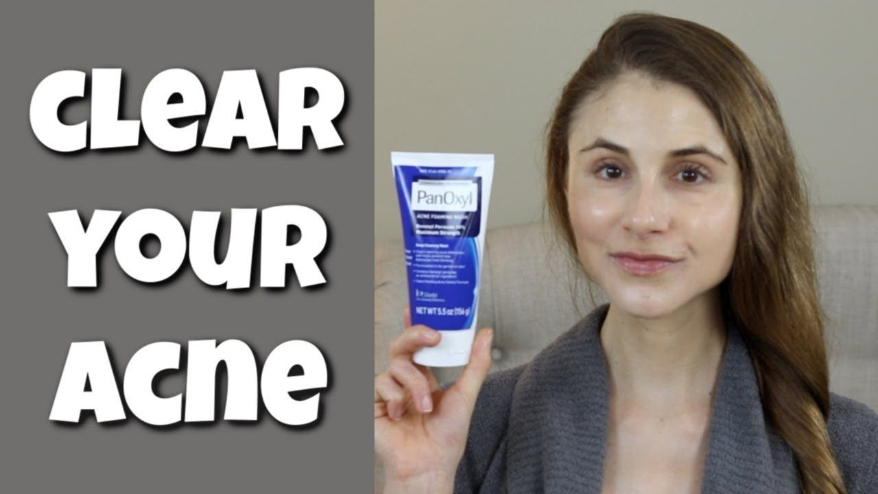 How To Clear Your Skin With Benzoyl Peroxide Dr Dray Dr Dray
