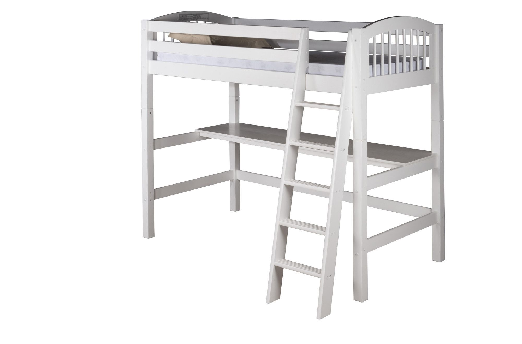 Pottery barn loft bed with desk  Twin Loft Bed  Products  Pinterest  Products