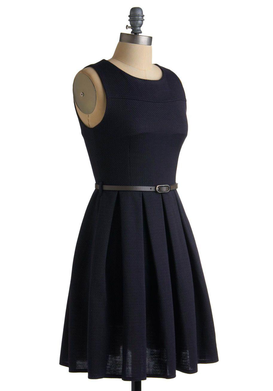 Right on Pointilism Dress