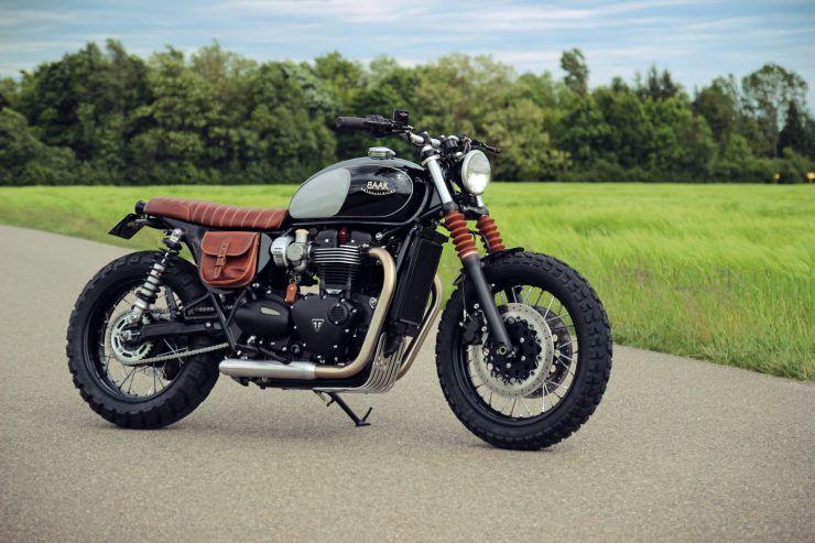 Baak Motorcycles Triumph Bonneville T120 Motorcycle Triumph