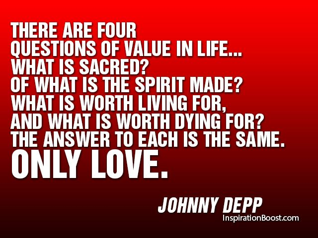 Love All Quotes Classy There Are Four Questions Of Value In Lifewhat Is Sacred Of What . Decorating Inspiration