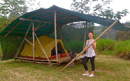 Camping platform with Elena | Flickr - Photo Sharing!