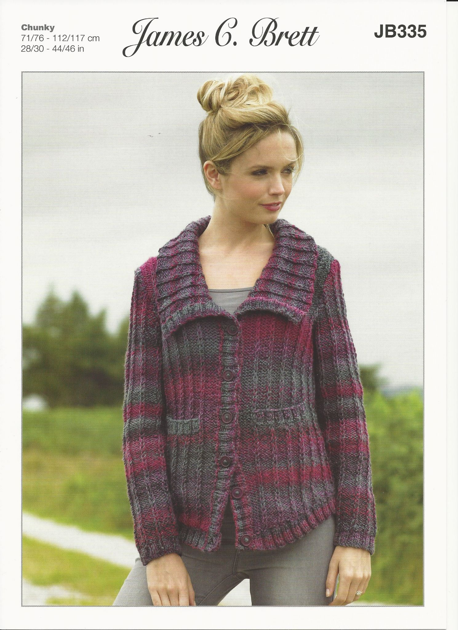 a98668d3948c James C Brett JB335 uses Lakeland Chunky yarn. Sizes from 8-10 years ...