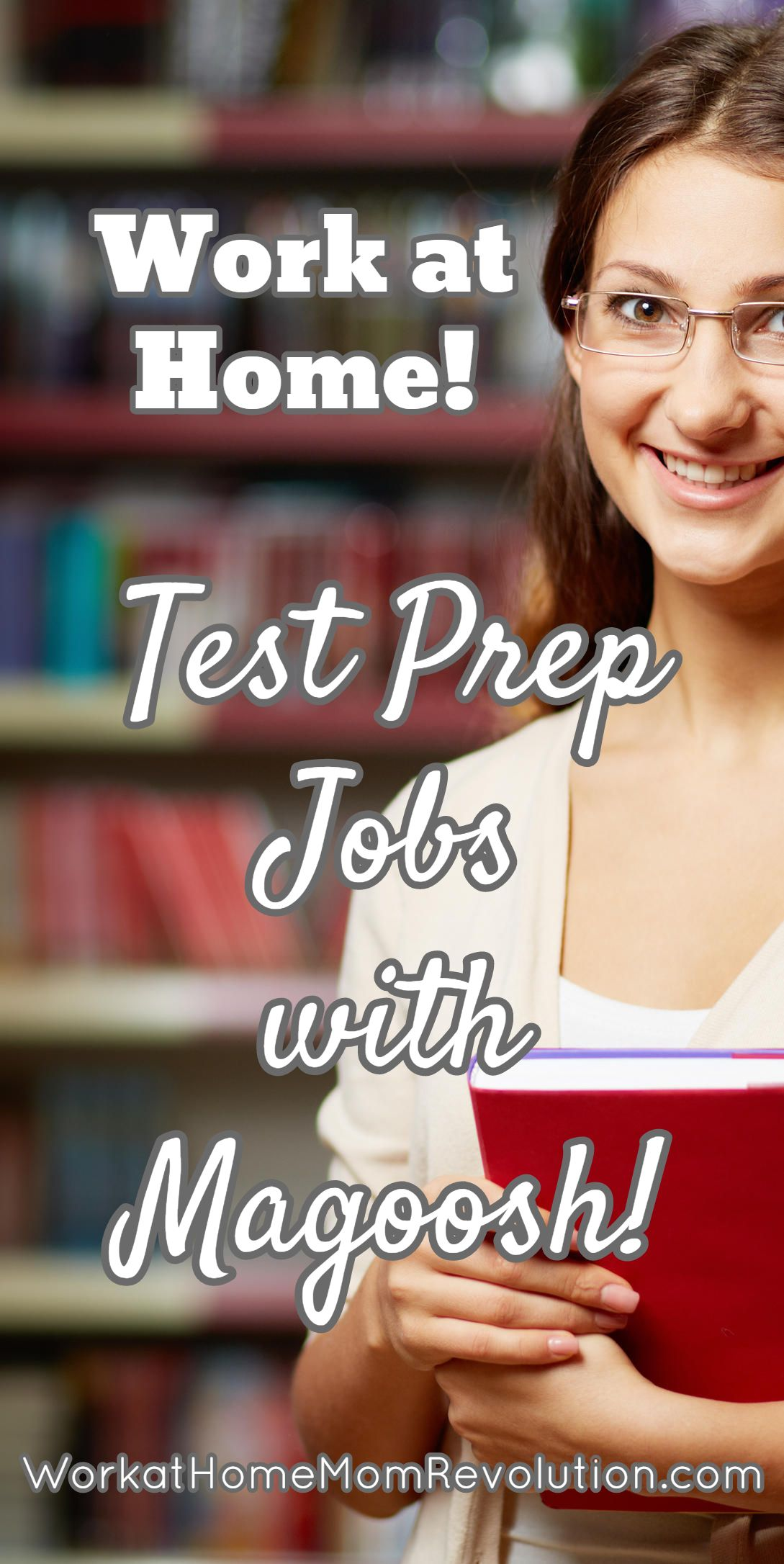 Work at Home Test Prep Jobs with Magoosh Work at Home