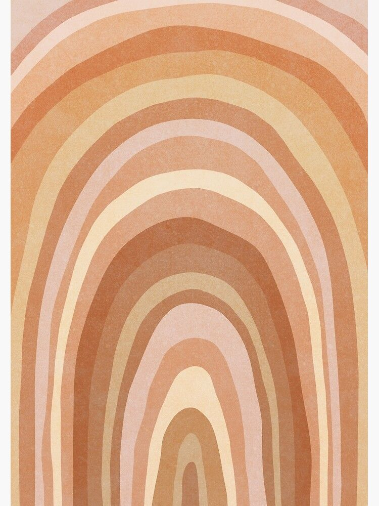 'Earth tone Rainbow' Art Print by Miss-Belle in 2020   Art ...