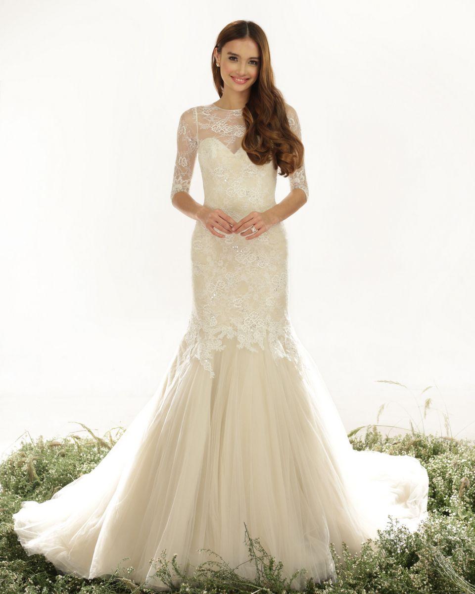 Veluz Reyes Wedding Dresses | Wedding dress, 2015 wedding dresses ...
