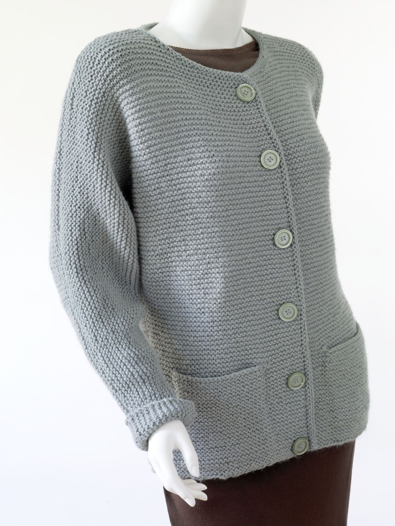 Knit Oh So Simple Cardigan Pattern (Knit) | Knit | Pinterest ...