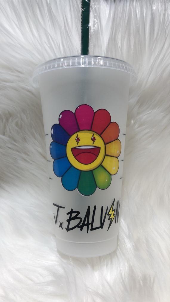 J. Balvin inspired tumbler   Etsy
