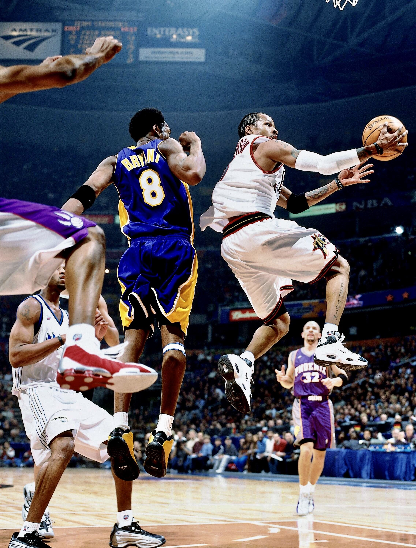 Pin By Nicole Ganier On Allen Iverson Allen Iverson Nba Basketball Art Basketball Players