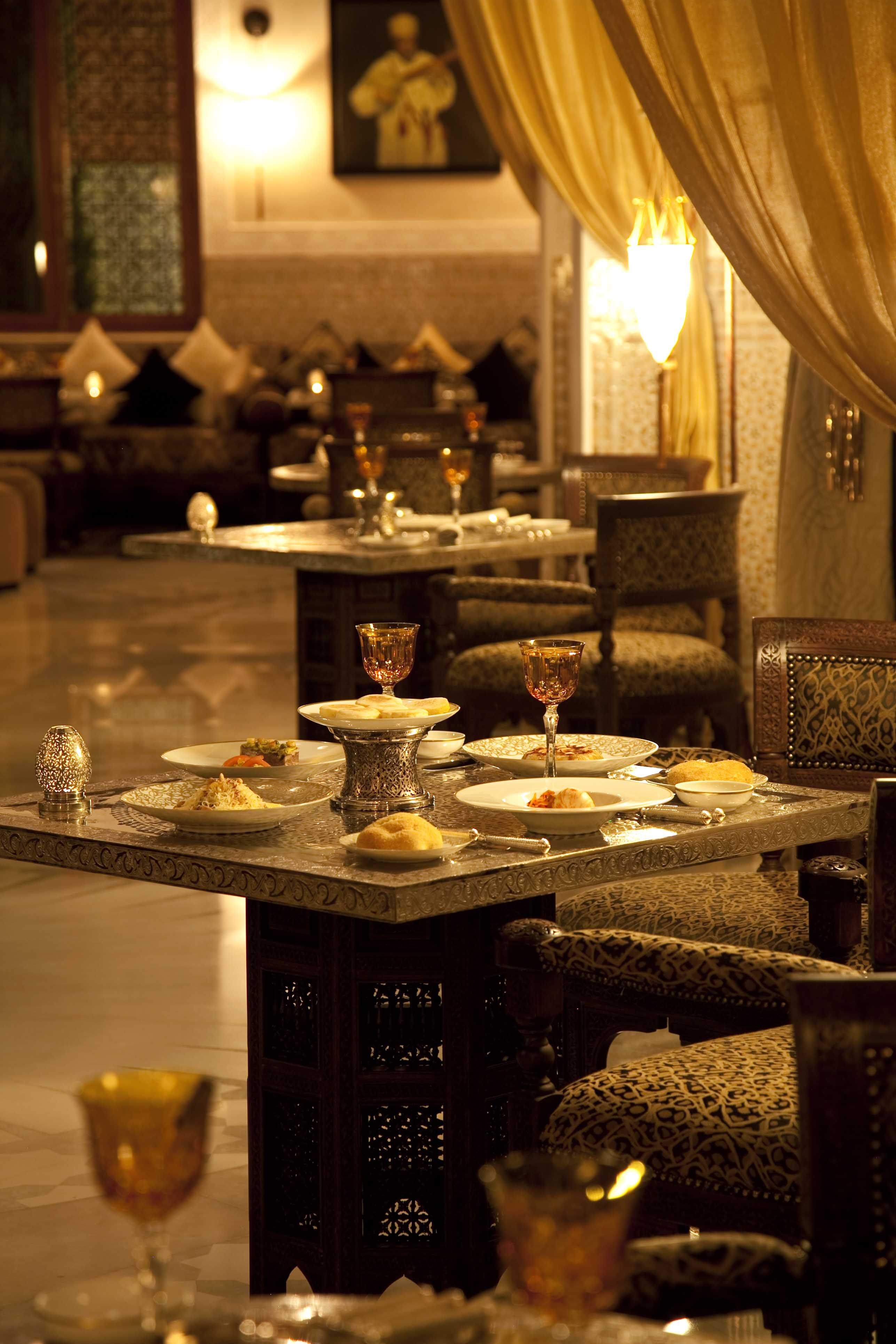 La grande table marocaine serves inspirational cuisine while respecting the flavours and tastes - Grande table cuisine ...