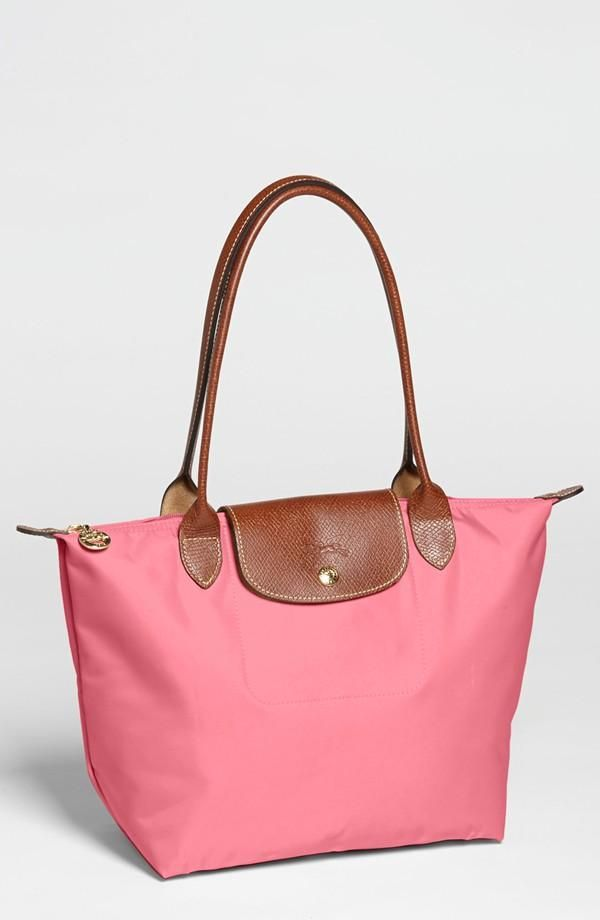 9e2e92210f Longchamp Tote + Pink = New Favorite | Women's Accessories | Bags ...