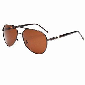 819eab93d10c5d BB – Lunettes de soleil – Homme Marron Marron   Promo Ebay ...
