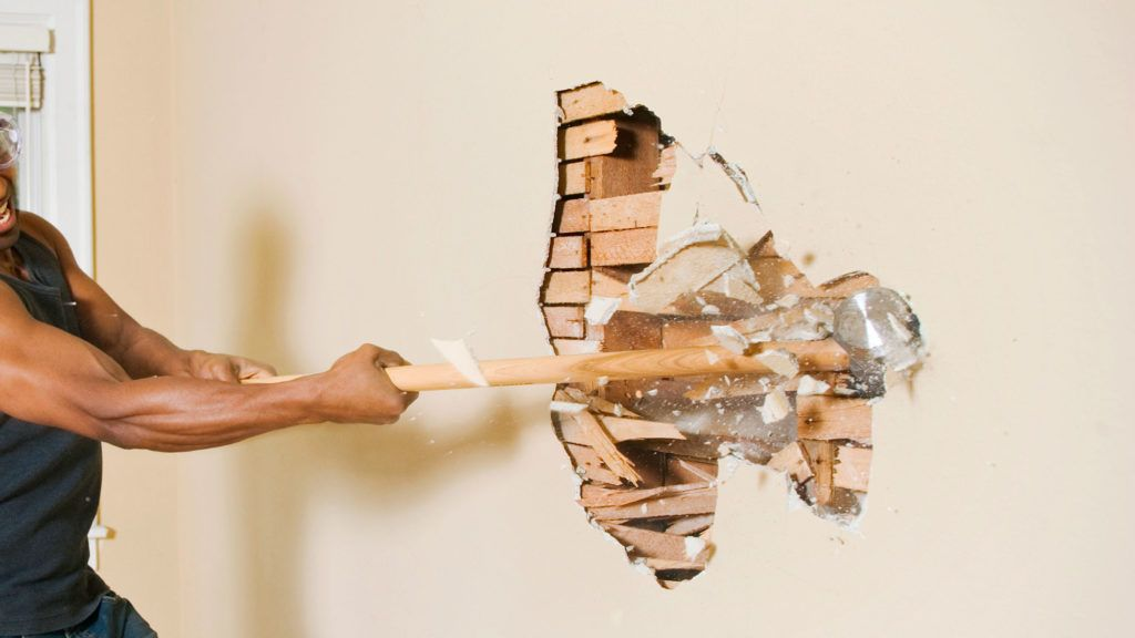 Image result for tear down wall remodel