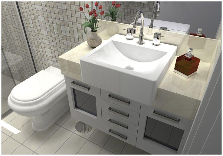 Reforma banheiro - Apartamento Sueli Milena