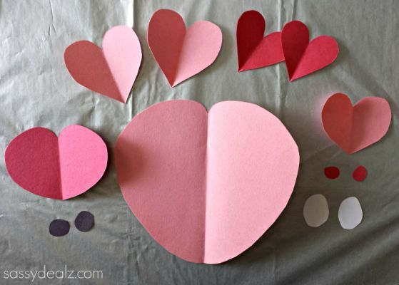 Heart Pig Craft For Kids - Crafty