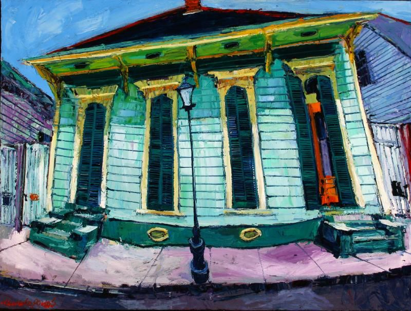 Michalopoulos Is A Very Highly Regarded New Orleans Artist
