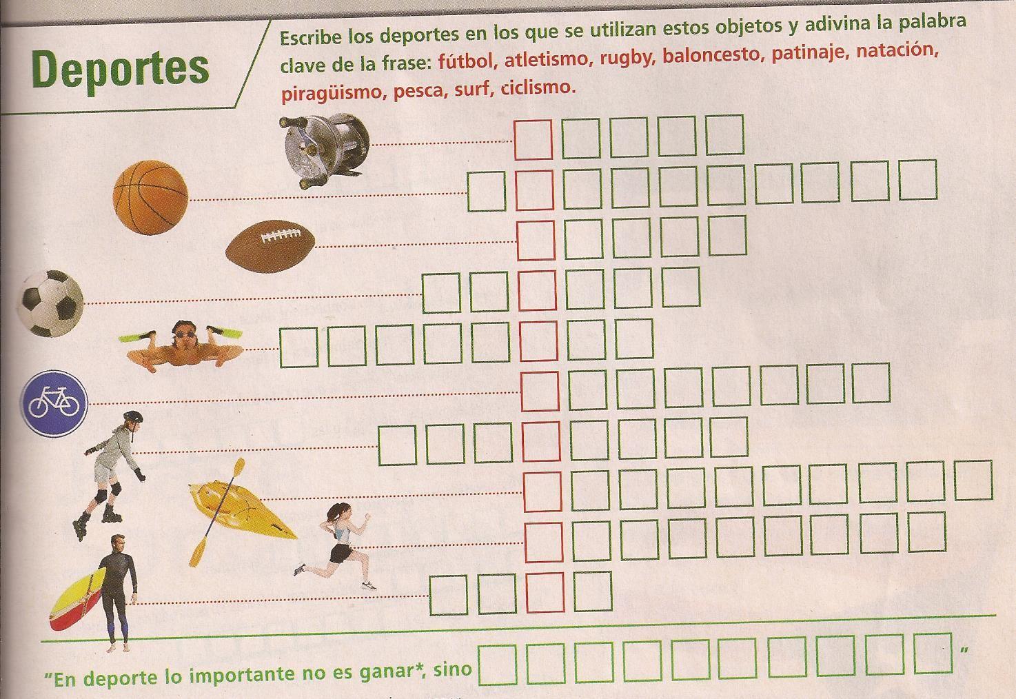 Crucigrama Sobre Los Deportes Sopas De Letras Para Imprimir Gratis Letras Para Imprimir Gratis Crucigramas
