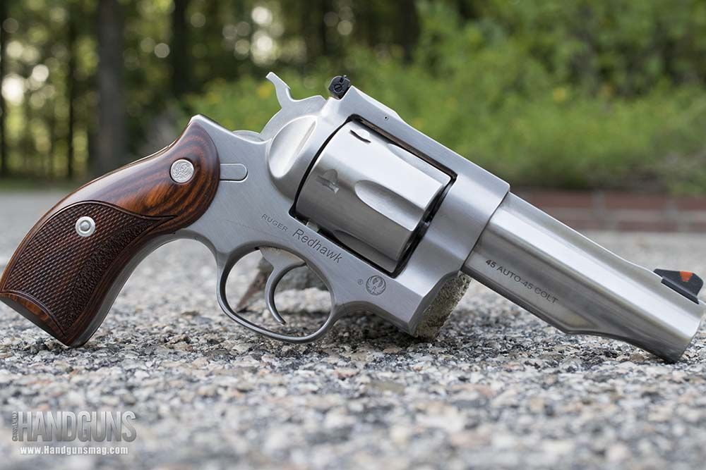 In this Ruger Redhawk  45 ACP/LC revolver review, we take a