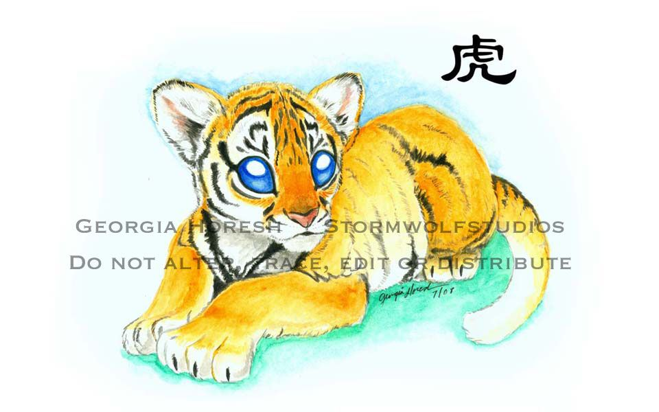 According to the Chinese Zodiac, the sign of the Tiger is