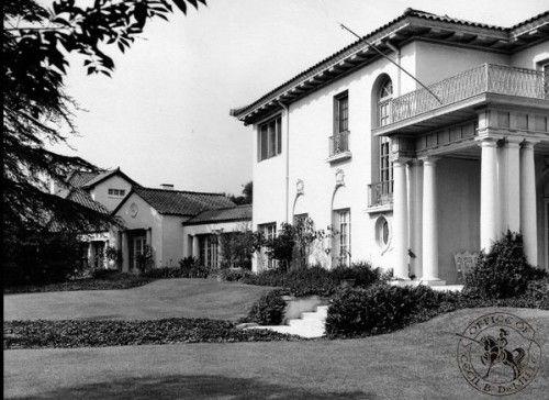 Cecil B Demille Estate In Los Feliz