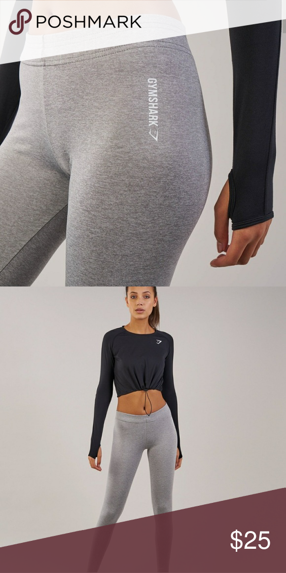 c885905c34d24 Gymshark Ark Jersey Leggings Grey Marl color Size Small Never worn Brand new  with tags Gymshark Pants Leggings